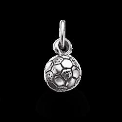 Vedhæng - fodbold 6,5 mm i...