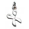 Vedhæng - saks i sølv med kæde - 260622