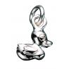 Vedhæng - and i sølv med kæde - 260652