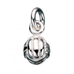 Vedhæng - garnnøgle i sølv med kæde - 260402