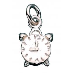Vedhæng - vækkeur i sølv