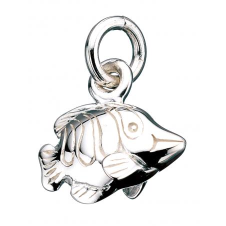 Vedhæng - fisk i sølv