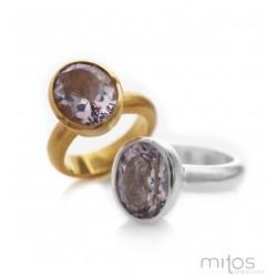 Rio - forgyldt sølv ring...
