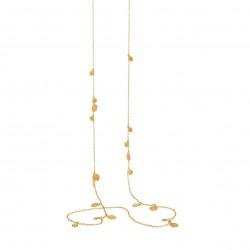 Lang kæde med runde plader