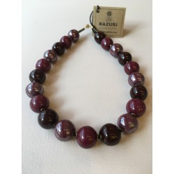 Plain rounds, Plum red