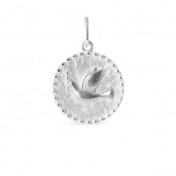 Vedhæng i sølv - Fredsdue