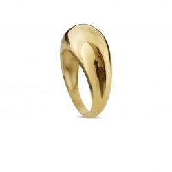 Ring i forgyldt sølv - bådring