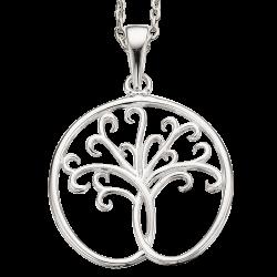 Livets træ sølv vedhæng...