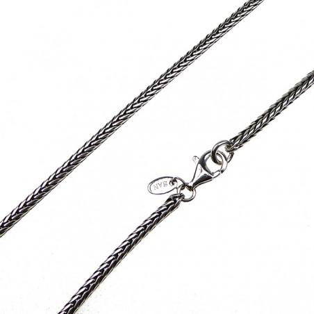 Armbånd - rævehale i sølv