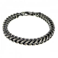 Kraftig letvægts halskæde i sølv