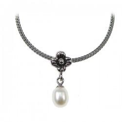 Sølv halskæde med...