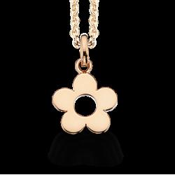 Vedhæng - blomst med kæde - 226452