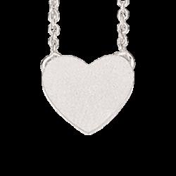 Halskæde med hjerte