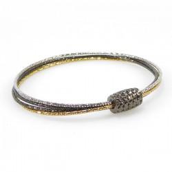 Sølv halskæde - 4 rk med...