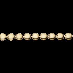 Guld armbånd 8 kt.