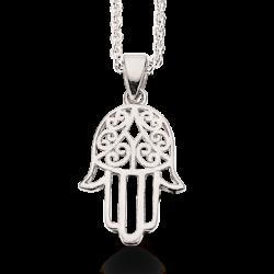 Fatimas hånd sølv vedhæng 228412RH