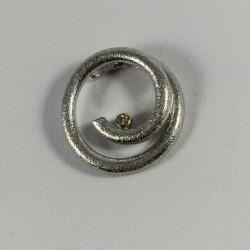 Cirkus - vedhæng i sølv med brillant - 52-1-21RH - P1