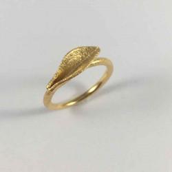 Grass - Ring i forgyldt sølv - 52-0-80FG - P2