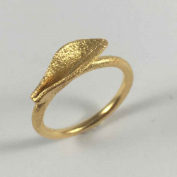 Grass - Ring i forgyldt sølv - 52-0-80FG - P4