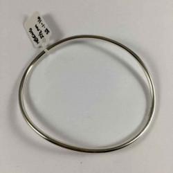 2,5 mm oval armring i massiv sølv - 52-1-16 - P2