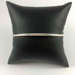 2,5 mm oval armring i massiv sølv - 52-1-16 - P3