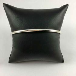 3 mm oval armring i massiv sølv - 52-1-12 - P3
