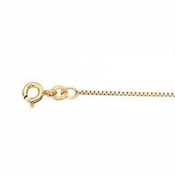 Guld kæde 8 kt. - Venezia - 40093