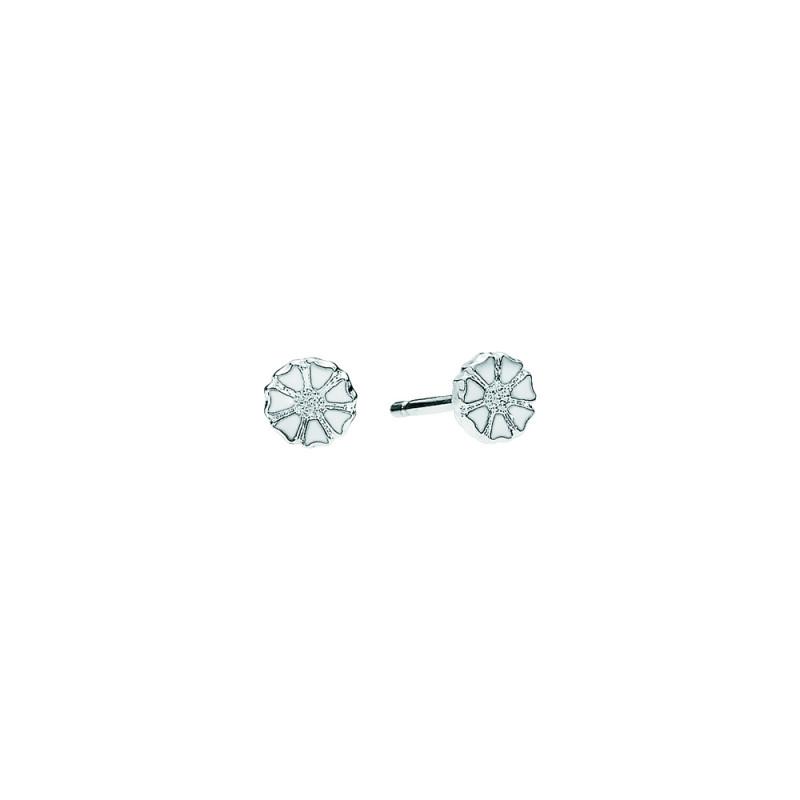 Marguerit ørestik i sølv 5mm - 909050-4-H