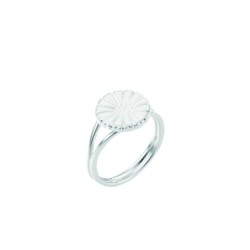 Marguerit ring i sølv 11mm - 907011-H