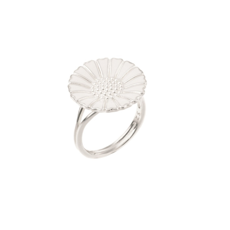 Marguerit ring i sølv 18mm - 907018-H