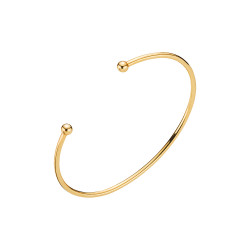 Armring 2mm - forgyldt - 9031048-F
