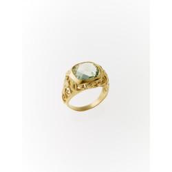 Rustik ring med ametyst - 907646-08-F