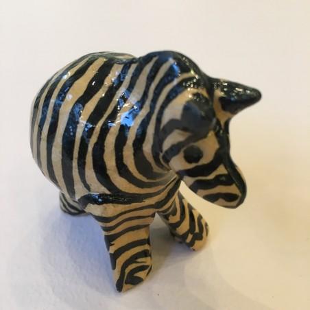 Kazuri dyr, keramisk zebra