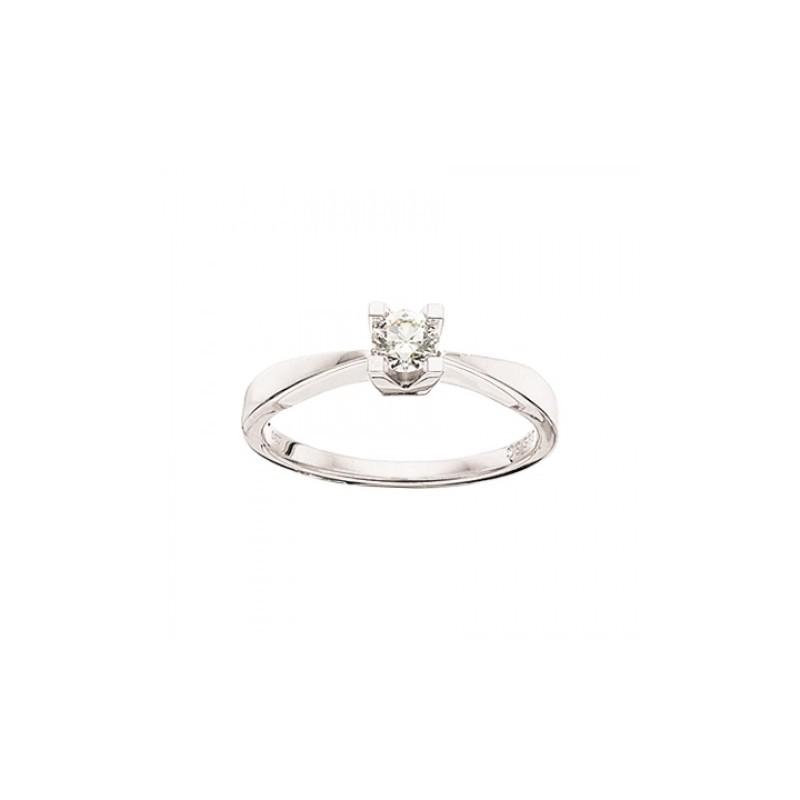 Kleopatra Ring 14 kt. Hvidguld - 7136