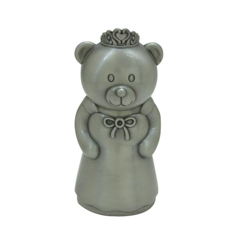 Fortinnet sparebøsse - Prinsesse bamse - 152-76280