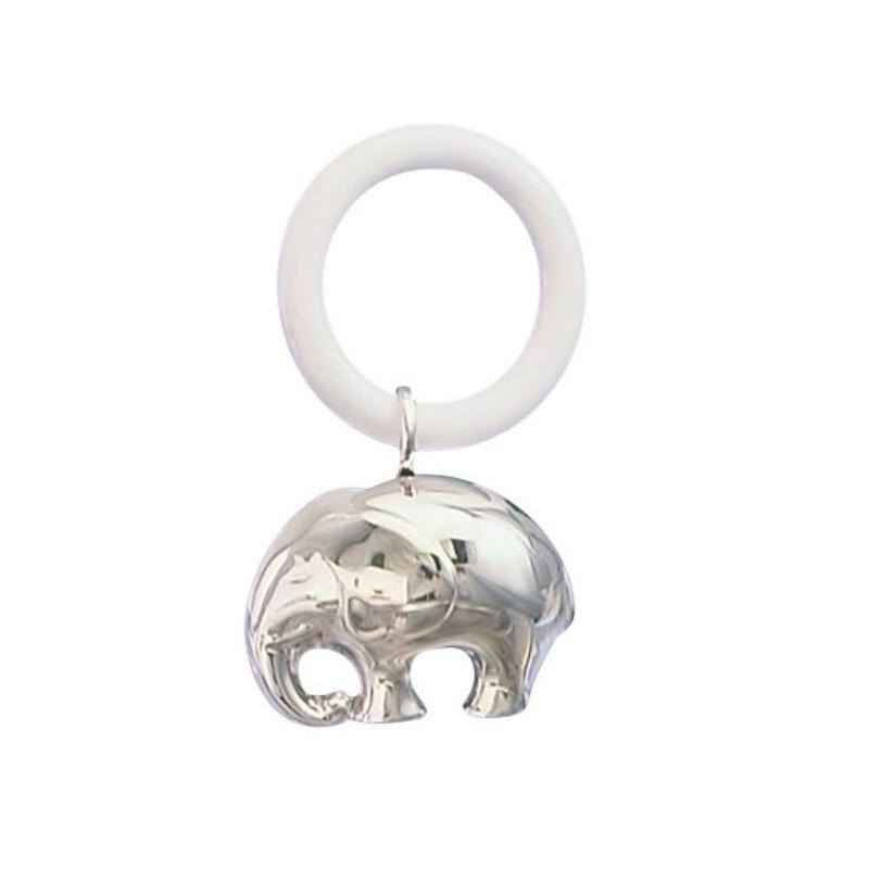 Rangle i sølvplet - Elefant - 150-87756