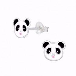 Sølv ørestikker med Pandadreng - 11299