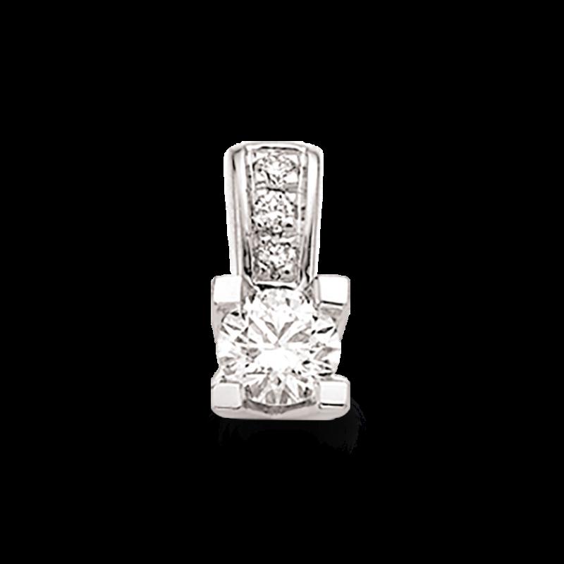 Kleopatra Queen vedhæng 14 kt. Hvidguld - 2536