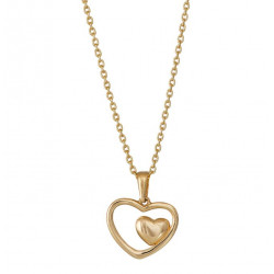 Hjerte i hjerte - Guld vedhæng i 8 kt. - 283 053 3