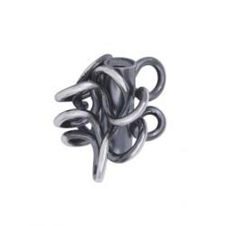 "Siersbøl SHAPE sølv lås - ""Vild knude"" - 612 027"