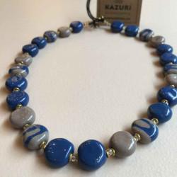 Tombola Pattern , Blue style - 2715-12-1