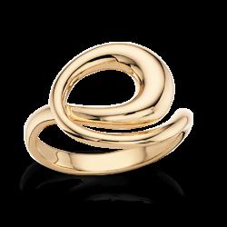 Ring 8 kt. rødguld - sving - 710893
