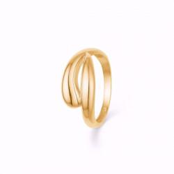 Ring 8 kt. rødguld - 634608