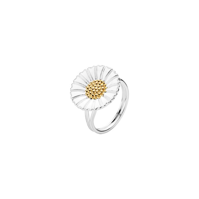 Marguerit ring i sølv 18mm - 9075018-HM