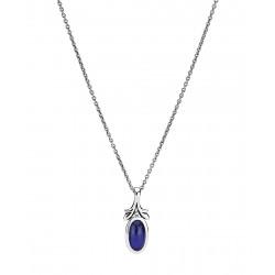 Kæde i sølv med Lapis Lazuli - 9021033-13
