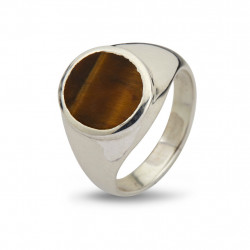 Ring - Oval Tiger's Eye - 50110189A