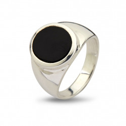 Ring - Oval Black Onyx - 50110189D