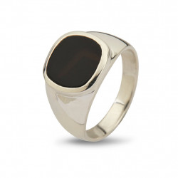 Ring - Cushion Black Onyx - 50110190D