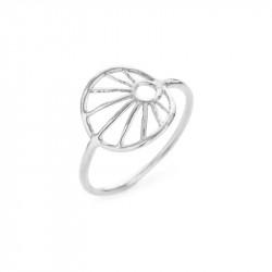Ring i sølv med 12mm trådmønster - 1695-1