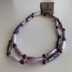Lang kæde, Mini freefall M.O.P Patt Pink Henna - 2715-5-2 - 1